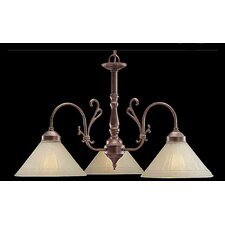 <strong>Classic Lighting</strong> Biltmore 3 Light Chandelier