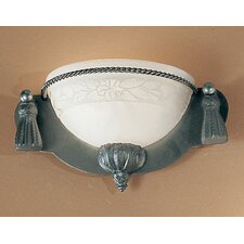 <strong>Classic Lighting</strong> Rope and Tassel 1 Light Bath Vanity Light