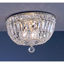 Empress 3 Light Semi-Flush Mount