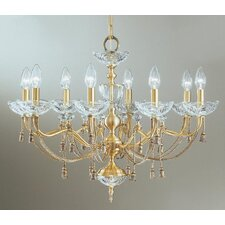 <strong>Classic Lighting</strong> Devonshire 8 Light Chandelier