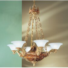 <strong>Classic Lighting</strong> Queen Isabela 6 Light Chandelier