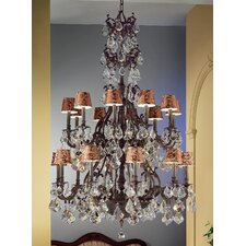 <strong>Classic Lighting</strong> Majestic 20 Light Chandelier
