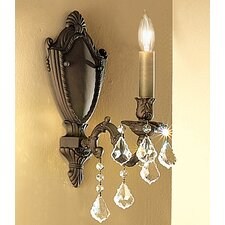 <strong>Classic Lighting</strong> Chateau 1 Light Wall Sconce