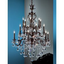 <strong>Classic Lighting</strong> Chateau Imperial 18 Light Chandelier