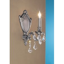 <strong>Classic Lighting</strong> Chateau Imperial 1 Light Wall Sconce