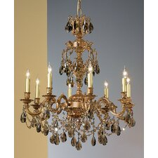 Chateau Imperial 8 Light Chandelier