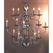 Williamsburg 15 Light Chandelier