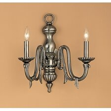 St. Moritz 2 Light Wall Sconce