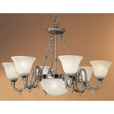 <strong>Classic Lighting</strong> St. Moritz 8 Light Chandelier