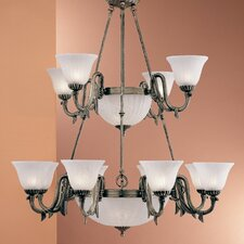 <strong>Classic Lighting</strong> St. Moritz 17 Light Chandelier