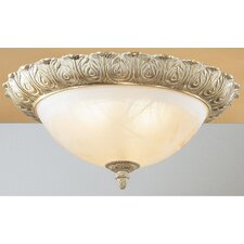Montego Bay 3 Light Semi-Flush Mount