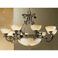 Alexandria I 12 Light Chandelier