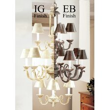 <strong>Classic Lighting</strong> Innsbrook 12 Light Chandelier