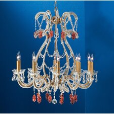 <strong>Classic Lighting</strong> Aurora 10 Light Chandelier
