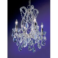 <strong>Classic Lighting</strong> Tivoli 4 Light Chandelier