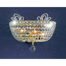 <strong>Classic Lighting</strong> Crown Jewels 2 Light Wall Sconce