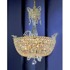 <strong>Classic Lighting</strong> Crown Jewels 16 Light Inverted Pendant