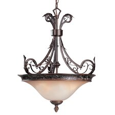 French Quarter 3 Light Inverted Pendant
