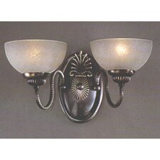 French Horn 2 Light Wall Sconce