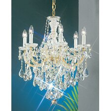 Maria Thersea 6 Light Chandelier