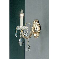 <strong>Classic Lighting</strong> Maria Thersea 1 Light Wall Sconce