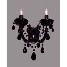 <strong>Classic Lighting</strong> Rialto 2 Light Wall Sconce