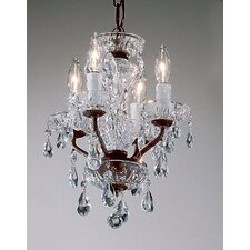 Daniele 4 Light Mini-Chandelier