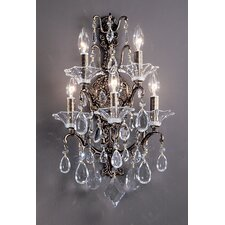 <strong>Classic Lighting</strong> Garden of Versailles 5 Light Wall Sconce