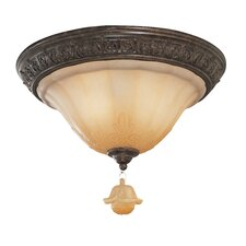 Riviera 2 Light Semi-Flush Mount