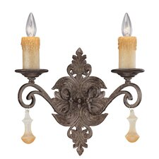 Riviera 2 Light Wall Sconce