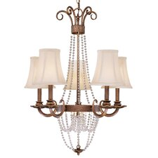 <strong>Classic Lighting</strong> Grace 5 Light Chandelier