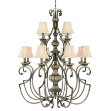 <strong>Classic Lighting</strong> Westchester 12 Light Chandelier