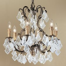 <strong>Classic Lighting</strong> Parisian 6 Light Chandelier