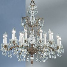 <strong>Classic Lighting</strong> Madrid 18 Light Chandelier