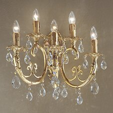 Princeton 5 Light Wall Sconce