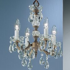 <strong>Classic Lighting</strong> Madrid 4 Light Mini-Chandelier