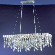 <strong>Classic Lighting</strong> Uptown 10 Light Chandelier