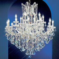 <strong>Classic Lighting</strong> Maria Thersea 19 Light Chandelier
