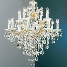 <strong>Classic Lighting</strong> Maria Thersea 13 Light Chandelier