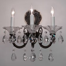 Via Lombardi 3 Light Wall Sconce