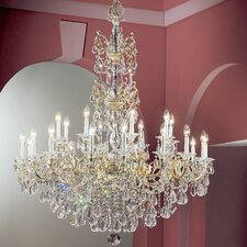 <strong>Classic Lighting</strong> Via Venteo 24 Light Chandelier