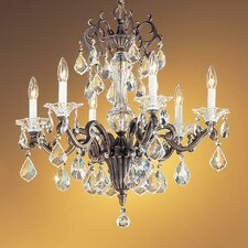 <strong>Classic Lighting</strong> Via Firenze 6 Light Chandelier