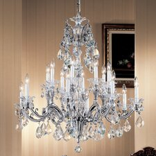 <strong>Classic Lighting</strong> Via Firenze 16 Light Chandelier
