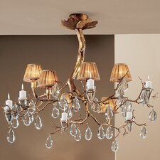 <strong>Classic Lighting</strong> Morning Dew 6 Light Chandelier