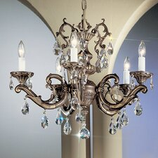 <strong>Classic Lighting</strong> Princeton II 5 Light Chandelier