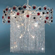 <strong>Classic Lighting</strong> Foresta Colorita 10 Light Chandelier