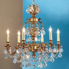 Chateau Imperial 6 Light Chandelier