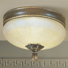 Alexandria II 3 Light Semi-Flush Mount