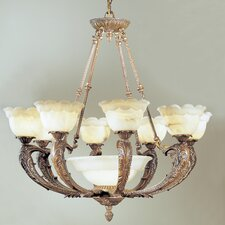 <strong>Classic Lighting</strong> Victorian I 9 Light Chandelier