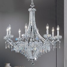 <strong>Classic Lighting</strong> Emily 8 Light Chandelier